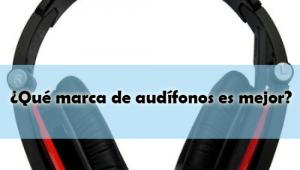 ¿Qué marca de audífonos es mejor?