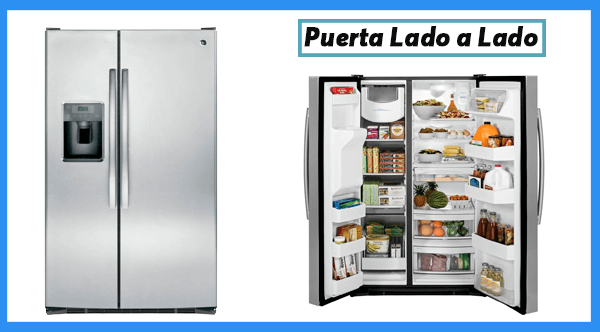 Refrigerador modelo lado a lado