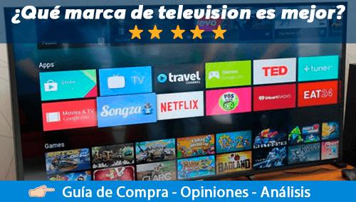 Mejores marcas de televisores