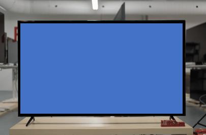 visión a 30 grados de una tv