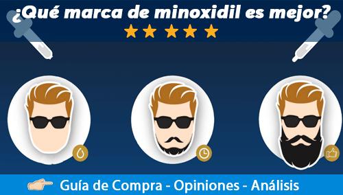 Mejores marcas de Minoxidil