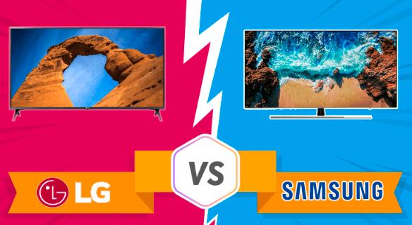 Televisión LG vs Televisión Samsung