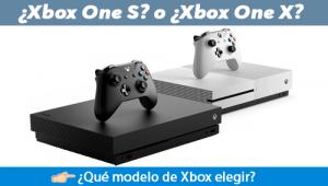 ¿Qué comprar un Xbox One S o un Xbox X?