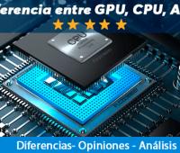 ¿Cuál es la diferencia entre GPU vs CPU vs APU?