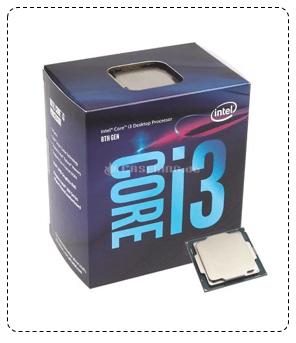 Procesador i3 - 8100